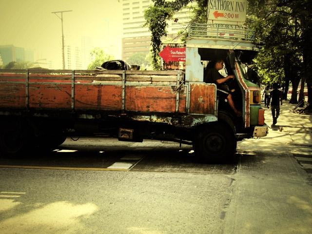 Old Thai Truck