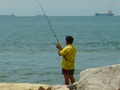 Fishing in Si Racha, Chonburi, Thailand